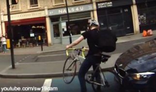 Cyclist collision. Who is to blame?
