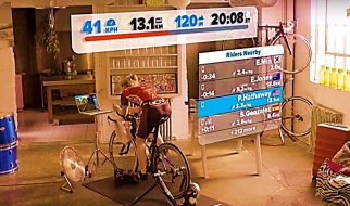 Zwift has taken your boring indoor cycling routine