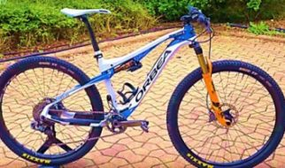 Bike Talk - The Orbea Oiz of Catharine Pendrel