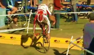 Ultimate Cyclocross Bunny Hop and Barrier Fails Compilation