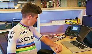A day in the life of Cyclocross World Champion, Wout van Aert