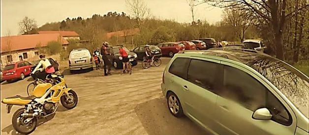 ROAD RAGE: Motorcyclist vs. Cyclist