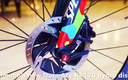 A first look at Shimano-Road's new Dura-Ace discs